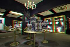 Royal-Delft Delft 3D (wim hoppenbrouwers) Tags: royaldelft delft 3d anaglyph stereo redcyan deporceleynefles delft3d delfsware delftsblauw
