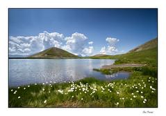 Le lac des Sirènes (Rémi Marchand) Tags: landscape mountain lake linaigrette lacdessirènes orcières hautesalpes france canon7d efs1022mmf3545usm