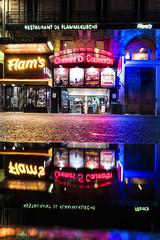 Cinemas 5 (Fabdub) Tags: paris parisien cinéma réflection néons streetphotography urbanexploration urban rue leicaq leica nightshot wiew colors summilux