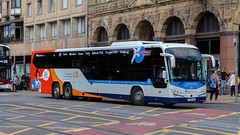 54515 YX18LKZ Stagecoach Perth (busmanscotland) Tags: 54515 yx18lkz stagecoach fife yx18 lkz volvo b8rle plaxton panther le perth low entry