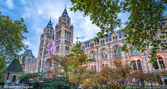 Natural History Museum (Mohamed Haykal) Tags: hasselblad x1d xcd 21 a wide angel natural history museum london sunset colorful illumination multi building premise mohamed haykal cromwell road