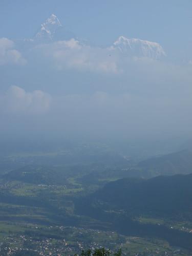 C'est très impressionnant de voir ces géants se confondre avec les nuages.