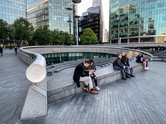 IMG_7072 (nagumbe) Tags: london south bank scoop people architecture
