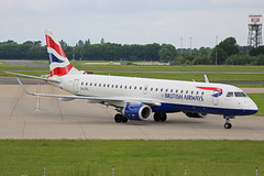 G-LCYL Embraer EMB190-100LR Brtisih Airways Cityflyer Stansted 02nd June 2018 (michael_hibbins) Tags: glcyl embraer emb190100lr brtisih airways cityflyer stansted 02nd june 2018 g british britain uk enlgish england great emb190 emb 190 europe european