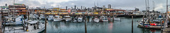 al scoma panorama (pbo31) Tags: sanfrancisco california nikon d810 color september fall 2018 boury pbo31 panorama large stitched panoramic fishermanswharf sail pier fishing blue port harbor net boat