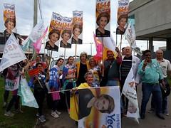 30/09/18 - Mobilização da Coligação Rio Grande da Gente em Capão da Canoa. Com o candidato Fofonka.