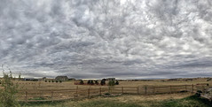 Cloudscape: Stratocumulus stratiformis opacus mamma cumulogenitus (northern_nights) Tags: cloudscape skyscape cheyenne wyoming cloud sky