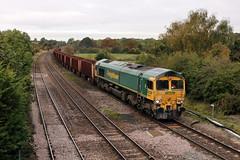 66610_2018-10-03_NewBarnetby_1461 (Tony Boyes) Tags: ra class 66 66610 freightliner ore scunthorpe