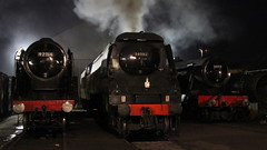 Start of the day (Duck 1966) Tags: cityofwells 34092 loughborough gcr shed nightime darkness timelineevents steam locomotive