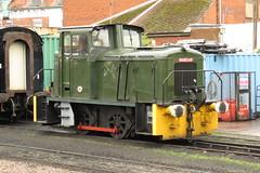 579 Minehead (localet63) Tags: westsomersetrailway 040 dieselshunter 579 minehead andrewbarclay