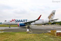 F-WWBS Airbus A320 Jet Smart (@Eurospot) Tags: ccawf fwwbs airbus a320 lfbo toulouse blagnac jetsmart