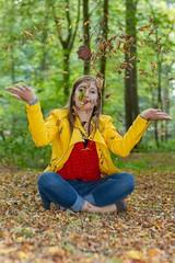 IMG_9443 (fab spotter) Tags: younggirl portrait forest levitation brenizer extérieur lumièrenaturelle