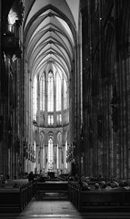Cologne Cathedral (ChristianMandel) Tags: cathedral cologne dom köln kirche blackandwhite bw ilce7iii sonya7iii sonnartfe35mmf28za houseofworship
