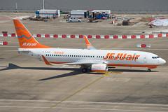 Jejuair B737-800 HL8302 (altinomh) Tags: macau international airport mfm vmmc jejuair b737800 hl8302 boeing b737 738 737