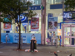 Tottenham Court Road. 20181019T06-15-20Z (fitzrovialitter) Tags: bloomsburyward england gbr geo:lat=5151713000 geo:lon=013116000 geotagged tottenhamcourtroad unitedkingdom peterfoster fitzrovialitter city camden westminster streets urban street environment london fitzrovia streetphotography documentary authenticstreet reportage photojournalism editorial daybyday journal diary captureone olympusem1markii mzuiko 1240mmpro microfourthirds mft m43 μ43 μft ultragpslogger geosetter exiftool rubbish litter dumping flytipping trash garbage