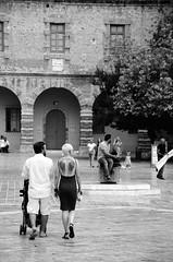 DSC_3511 (http://kseslogiastos.wixsite.com/aperture) Tags: street city urban bw blackandwhite nafplio greece explore people road tree building day summer walk