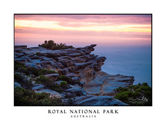Dawn skies Royal National Park (sugarbellaleah) Tags: dawn sky rock cliffs headland mystical misty sunrise health landscape light sublime quiet tranquil ocean coast coastal seascape flora bushes beautiful background clouds weather copyspace australia royalnationalpark sydney illawarra texture shape form unique travel tourism nationalpark