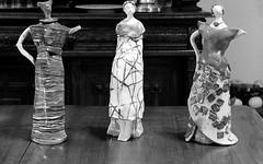 Trio (Mattia Camellini) Tags: id11 kodaktmax400pro 120rollfilm analog pellicola biancoenero blackandwithe sculpture art weltagarant trinarrodenstock38105cm vintagecamera mattiacamellini foldingcamera canoscan9000fmakii