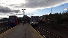 18i811_Meadowhall (Felixjaz) Tags: meadowhallinterchange 2018 class399 tramtrain supertram tram 399203 120 221 1v60 crosscountry