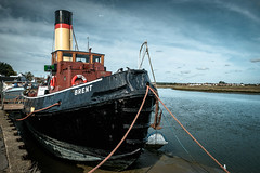 Brent (pauldgooch) Tags: boat steam 2018 river brent fujifilm xt2 maldon essex classicchrome