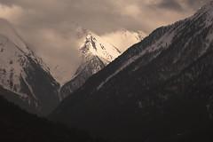 Landscape again and again (LeGrandBru) Tags: mountain montagne sepia photographie sauvage photography landscape paysage slam queyras canon eos 700d sun winter forest hiver sommets cimes