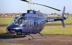 Bell 206B JetRanger III G-OCFD Lee on Solent Airfield 2018 (SupaSmokey) Tags: bell 206b jetranger iii gocfd lee solent airfield 2018