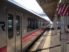 Today's first train (しまむー) Tags: panasonic lumix dmcgx1 gx1 g 20mm f17 asph trip train yuri highland railway 由利高原鉄道