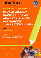 PRE - INVITATION TO THE #INDIANABACUS #COMPETITION (Ind-Abacus) Tags: abacus mental mind math maths arithmetic division q new invention online learning basheer ahamed coaching indian buy tutorial national franchise master tutor how do teacher training game control kids competition course entrepreneur student indianabacuscom