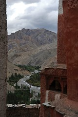 View from Wanla Monastery