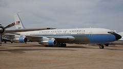 Boeing 707-153 VC-137B-BN 58-6971 in Tucson (J.Comstedt) Tags: aircraft flight aviation air aeroplane museum airplane us usa planes pima space tucson az boeing 707 vc137 usaf 586971
