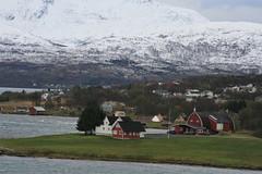 Out from Tomso (bigjon) Tags: norway arctic scandinavia hurtigruten ship norse tromso norwegian village