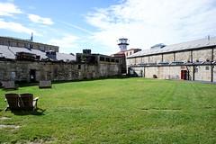 The Yard (Throwingbull) Tags: eastern state penitentiary jail prison incarceration incarcerated inmate inmates philadelphia pa pennsylvania history historic cell cells holding