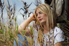 Porträt - Portrait 013 (Roger-Kersten) Tags: porträt portrait frau woman blondine blick blond