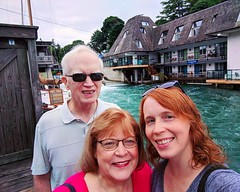 mom & dad (ekelly80) Tags: michigan leland fishtown leelanaupeninsula upnorth puremichigan summer august2018 channel water family mom dad