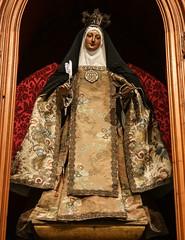 St Teresa of Ávila (Lawrence OP) Tags: saints teresaofavila doctorofthechurch carmelite mystic writer saint lalaguna tenerife