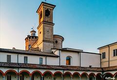 Complesso della Certosa il Chiostro grande (danilocolombo69) Tags: portico chiostro certosadiparma campanile danilocolombo69 danilocolombo nikonclubit