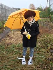 Little Monica Doll (Mimo_Marina) Tags: полиуретан шарнирнаякукла шарнирная bjd bjdboy bjddoll boy umbrella