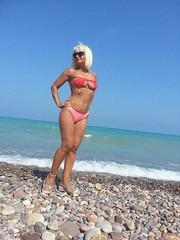 flikr (363) (lovesnailenamel) Tags: sexy sexygranny bikinigranny maturebikini bikinigilf milf gilf