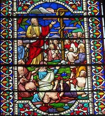[67980] All Saints, Gainsborough : East Windows (Budby) Tags: gainsborough lincolnshire church window stainedglass