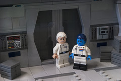 Thrawn and Yularen (Ben Cossy) Tags: thrawn yularen empire rebels star wars moc afol lego imperial grand admiral