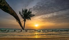 Sunset Sairee Beach - Koh Tao (Andrelo2014) Tags: sunset sairee beach koh tao