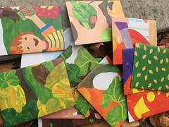 Halloween envelopes (artnoose) Tags: pumpkin a2 zine etsy paper orange handmade envelopes envelope halloween