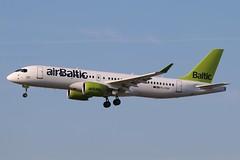 YL-CSN - LGW (B747GAL) Tags: air baltic airbus a220300 lgw gatwick egkk ylcsn