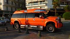 Ford F250 Camper (skumroffe) Tags: fordf250 fordf250camper ford f250 camper truck pickup bil auto car coche thessaloniki greece grekland hellas ellada nikisavenue leoforosnikis powerstroke thessalonica salonica salonika macedonia makedonien