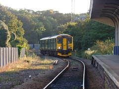 150249 Falmouth Docks (1) (Marky7890) Tags: gwr 150249 class150 sprinter 2f88 falmouthdocks railway cornwall maritimeline train