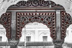 Mughal Kashi Kari (AQAS.Clicks) Tags: lahore pakistan mughal architecture building masjid history art ruler walledlahore old structure historical monuments aqas masjidwazirkhan wazirkhan mughalkashikari kashikari ornatelydecorated culturalcolros colors monotones sinnglcolor perspective