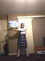 Hermione as Mindy Mccready/Hit Girl (Lost Kid/Schoolgirl Version) Kick Ass (hermionesimpson) Tags: cd crossdressing crossdress crossdresser crossdressed tg trans transfemale tgirl transwoman ts transsexual transexual white blouse whiteblouse red black redandblacktie tartan skirt tartanskirt socks whitesocks shoes blackshoes mindymccready mindymccreadycosplay mindymccreadycosplayer mindymccreadycostume mindymccreadyfancydress mindymccreadyuniform mindymccreadyschooluniform hitgirl hitgirlcosplay hitgirlcosplayer hitgirlfancydress hitgirlcostume hitgirluniform hitgirlschooluniform