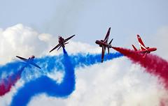 Red Arrows (Bernie Condon) Tags: dunsfold wingswheels airshow surrey uk aviation aircraft flying display redarrows reds arrows raf rafat royalairforce formation team aerobatic bae hawk trainer jet military warplane