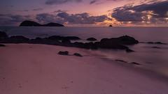 Palm Cove Pano (RoosterMan64) Tags: australia beach clouds landscape longexposure palmcove queensland seascape sunrise panorama panoramic