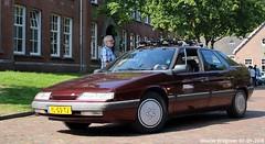 Citroën XM 2.0i Ambiance 1990 (XBXG) Tags: yl53tj citroën xm 20i ambiance 1990 citroënxm la fête des limousines 2018 fort isabella reutsedijk vught nederland holland netherlands paysbas emw elk merk waardig youngtimer old classic french car auto automobile voiture ancienne française vehicle outdoor